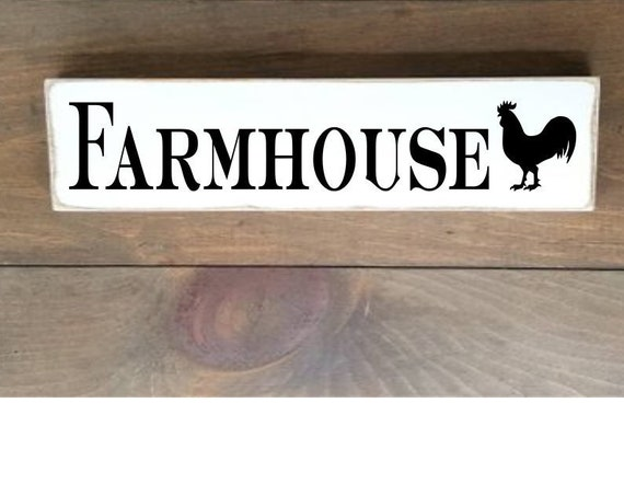 Farmhouse Wooden Sign, Farmhouse Décor, Rooster Sign, Home Décor, Rustic, Pantry sign, Primitives, Primitive Wood Sign, Pantry Wood Sign