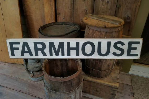 Farmhouse Sign - Farmhouse Décor - Farmhouse Sign - Fixer Upper Inspired Wood Sign - Primitive Sign Rustic - Shabby Chic - Kitchen Sign