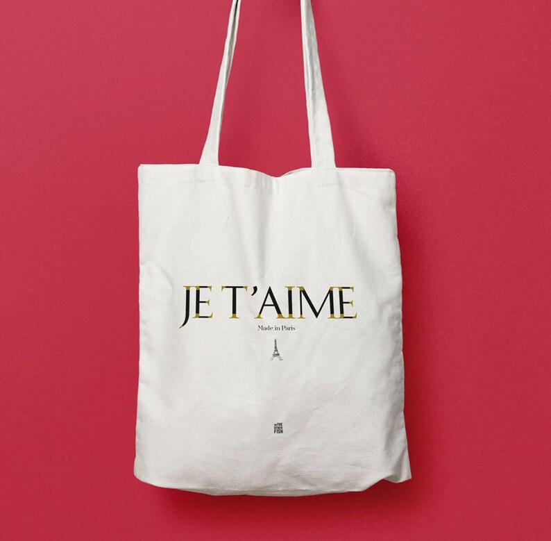 13d0e46d32865 Tote bag Ich liebe dich Paris Tasche Tasche