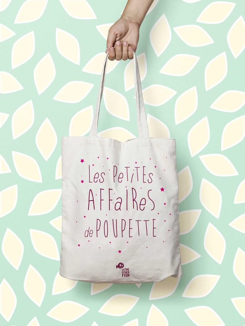 Tote bag personnalized nappy bag Little things of\u2026PINK handbag bag canvas tote bag Kids Name Tote bag market Toddler bags