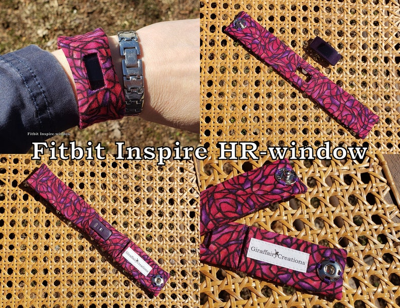 Fitbit Inspire HR Fabric Band-With Window