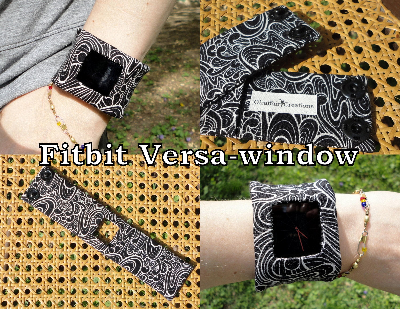 Fitbit Versa, Versa LITE Fabric Band-With Window