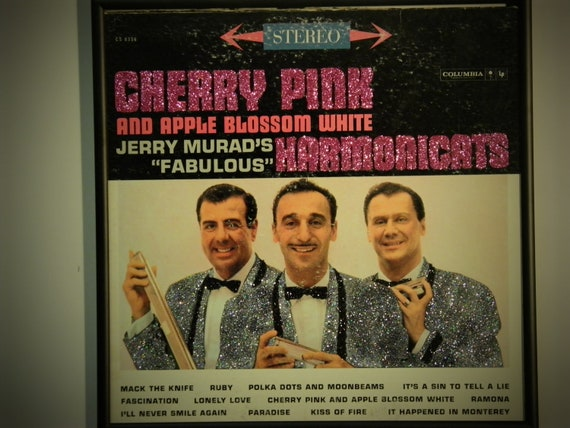Glittered Record Album - The Harmonicats