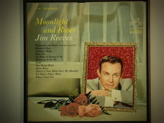 Glittered Record Album - Jim Reeves
