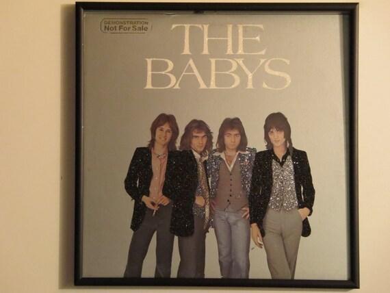 Glittered Record Album - The Babys