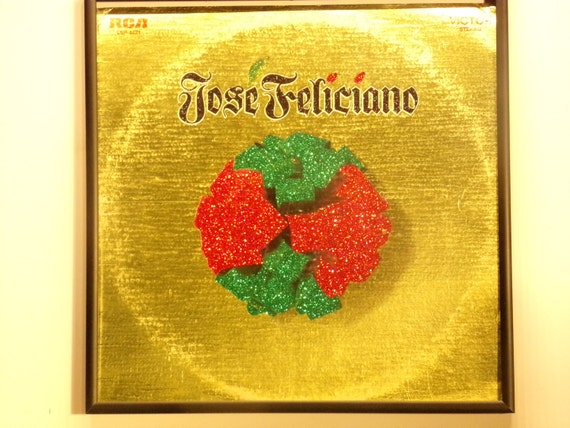 Glittered Record Album - Jose Feliciano