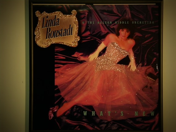 Glittered Record Album - Linda Ronstadt