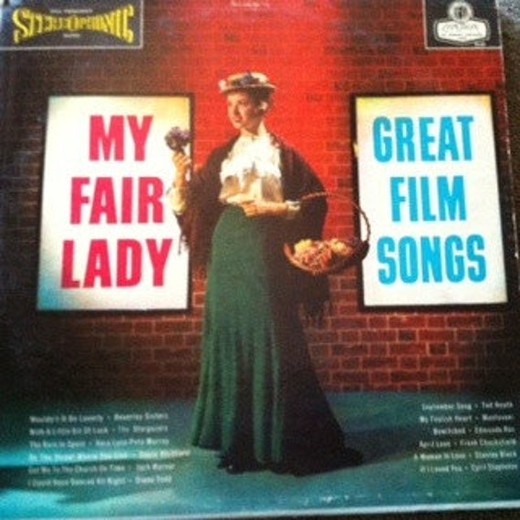 David Jones Personal Collection Record Album - My Fair Lady - Great Film Songs