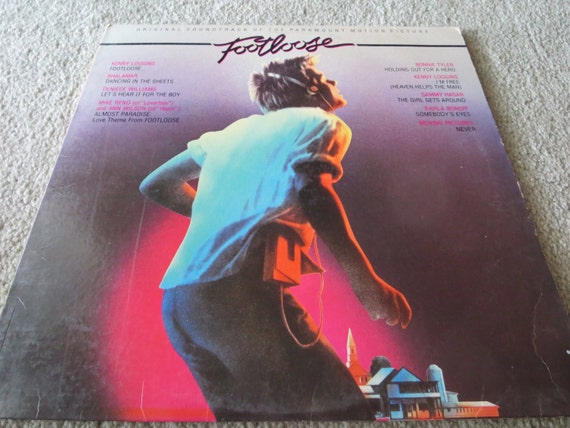 David Jones Personal Collection Record Album - Footloose Soundtrack