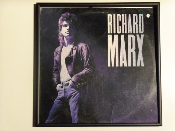 Glittered Record Album - Richard Marx - Richard Marx