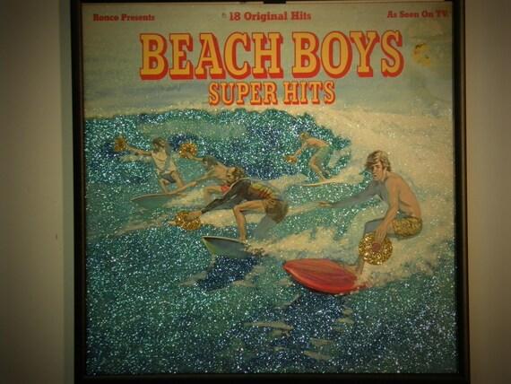 Glittered Record Album - The Beach Boys