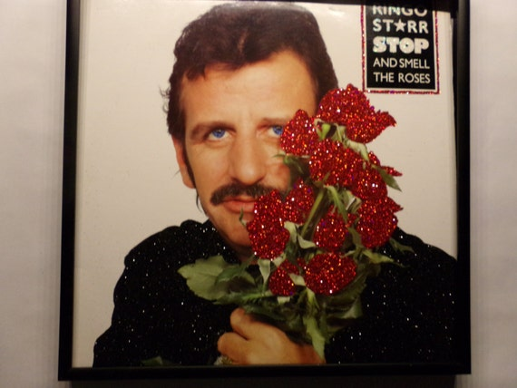 Glittered Record Album - Ringo Starr - Stop And Smell The Roses