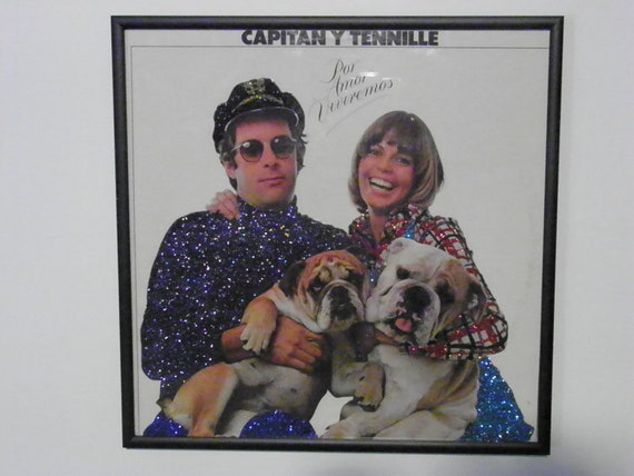 Glittered Record Album - The Captain and Tennille (Spanish)