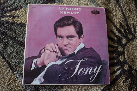 David Jones Personal Collection Record Album - Anthony Newley - Tony
