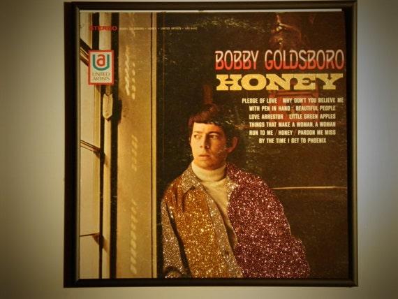 Glittered Record Album - Bobby Goldsboro - Honey