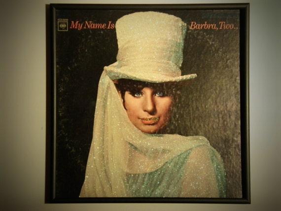 Glittered Record Album - Barbra Streisand - My Name is Barbra Two