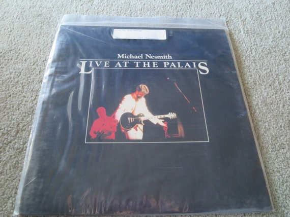 David Jones Personal Collection Record Album - Michael Nesmith - Live At The Palais