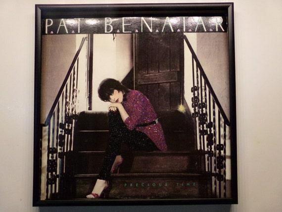Glittered Record Album - Pat Benatar - Precious Time