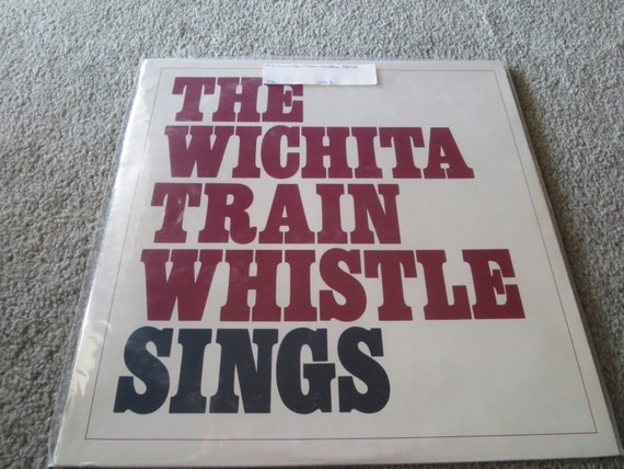 David Jones Personal Collection Record Album - Michael Nesmith - The Wichita Train Whistle Sings