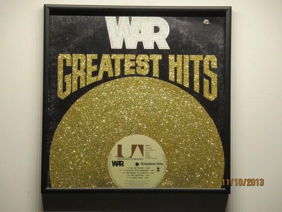 Glittered Record Album - WAR - Greatest Hits