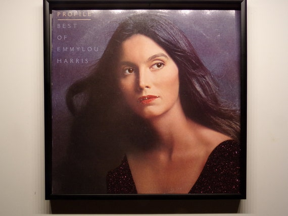 Glittered Record Album - Emmylou Harris - Profile Best of Emmylou Harris