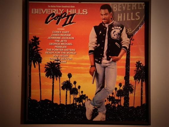 Glittered Record Album - Eddy Murphy - Beverly Hills Cop II