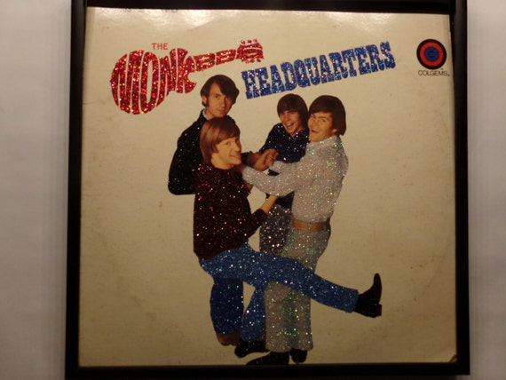 Glittered Album - The Monkees - Headquarters