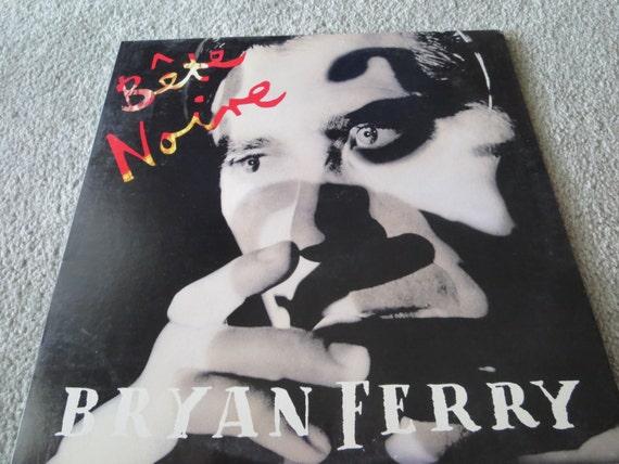 David Jones Personal Collection Record Album - Bryan Ferry - Bete Noine