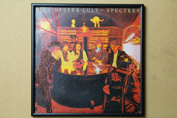 Glittered Record Album - Blue Oyster Cult - Spectres