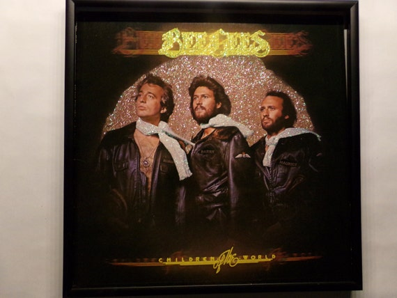 Glittered Record Album - Bee Gees - Children of the World