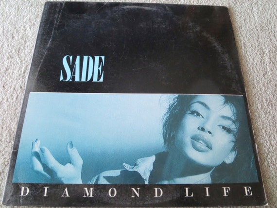 David Jones Personal Collection Record Album - Sade - Diamond Life