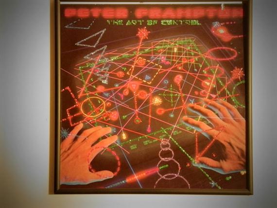 Glittered Record Album - Peter Frampton - The Art Of Control