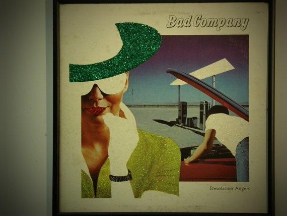 Glittered Record Album - Bad Company