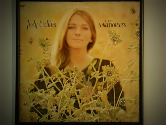 Glittered Record Album - Judy Collins