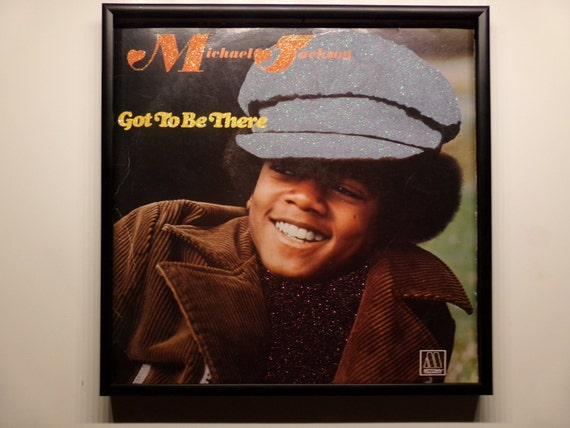 Glittered Record Album - Michael Jackson - Got To Be There