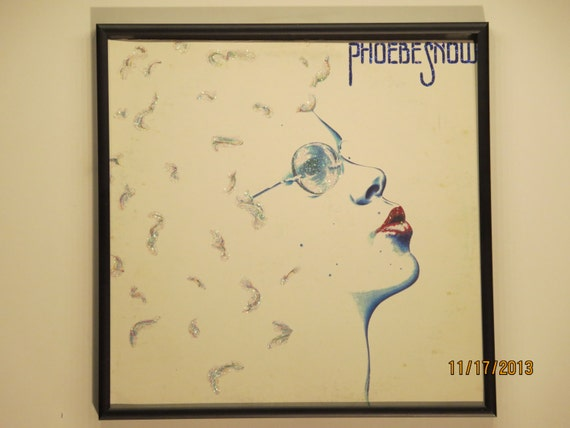 Glittered Record Album - Phoebe Snow