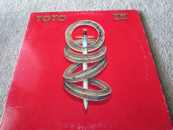David Jones Personal Collection Record Album - Toto - IV