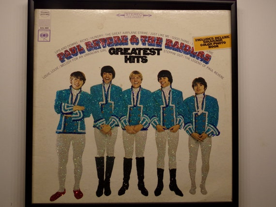 Glittered Record Album - Paul Revere and the Raiders - Greatest Hits