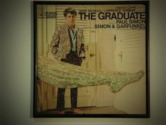 Glittered Record Album - The Graduate Soundtrack
