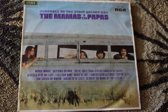 David Jones Personal Collection Record Album - The Mamas & The Papas - Farewell To The First Golden Era