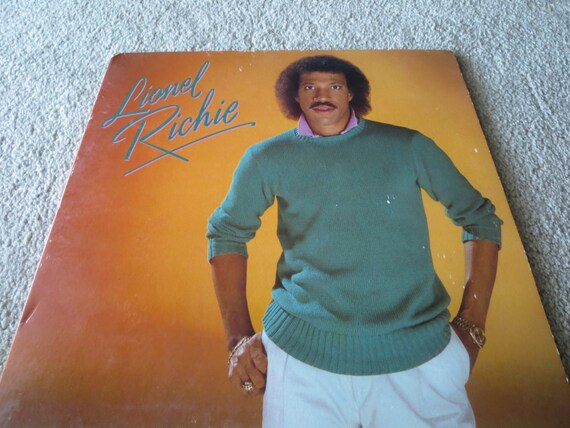 David Jones Personal Collection Record Album - Lionel Richie