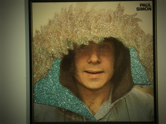Glittered Record Album - Paul Simon