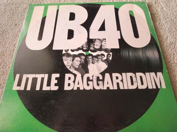 David Jones Personal Collection Record Album - UB40 - Little Baggariddim
