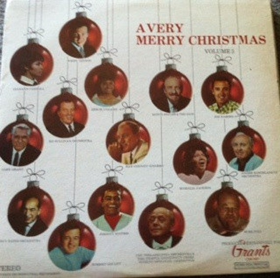 David Jones Personal Collection Record Album - A Very Merry Christmas - Volume 3