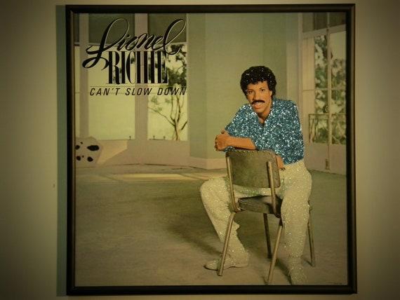 Glittered Record Album - Lionel Richie