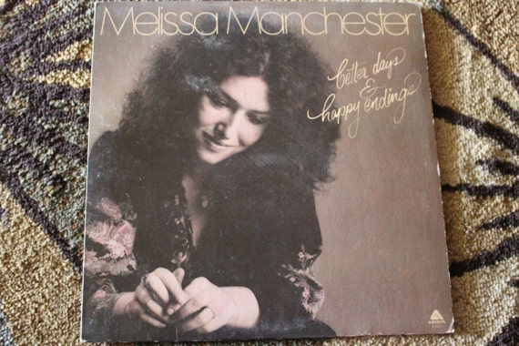 David Jones Personal Collection Record Album - Melissa Manchester - Better Days & Happy Endings