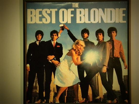 Glittered Record Album - Blondie