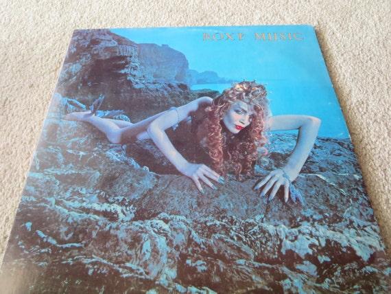 David Jones Personal Collection Record Album - Roxy Music - Siren