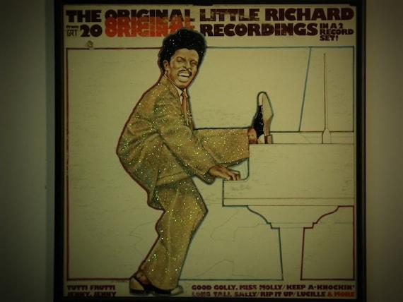 Glittered Record Album - Little Richard