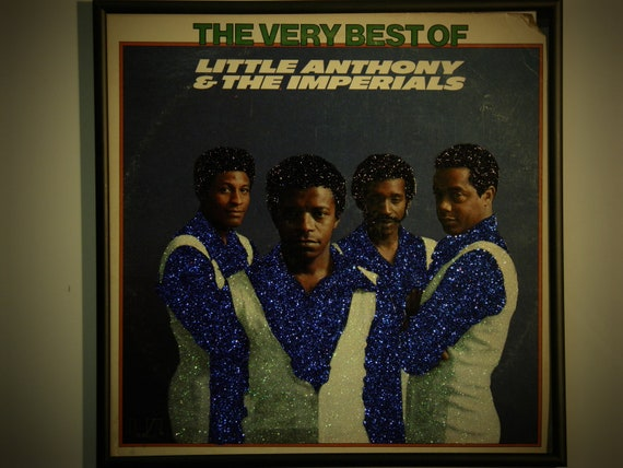 Glittered Record Album - Little Anthony and the Imperials